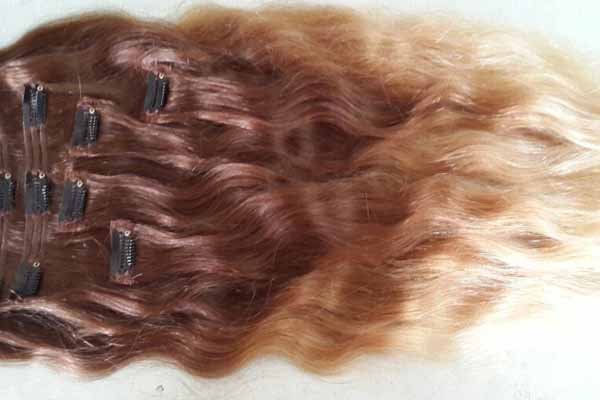 OMBRE REMY CLIP IN HAIR EXTENSIONS