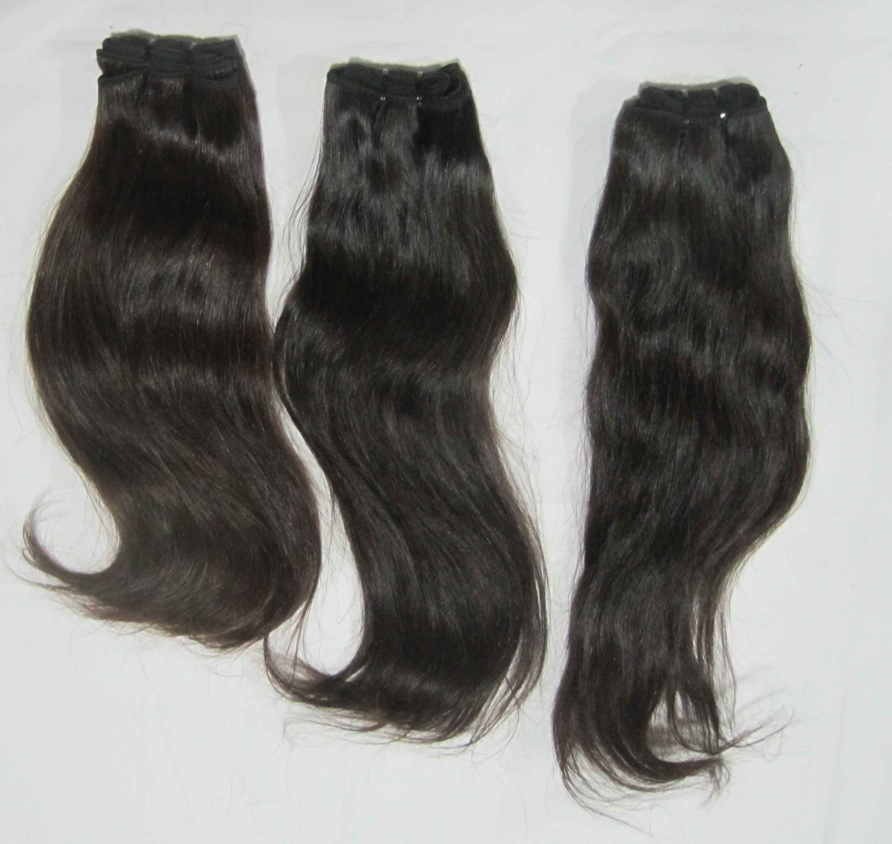 R2r Indian Remy Hair Factory Wholesale Temple Hair Extensions