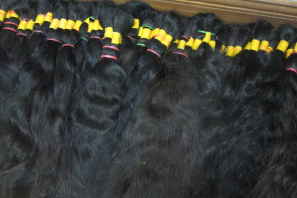 WHOLESALE REMY HAIR BULK SINGLE DRAWN